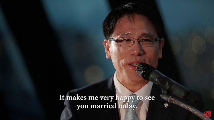 Korean Wedding Speech