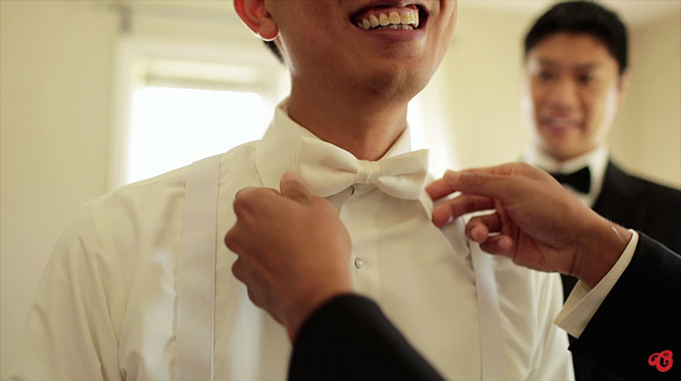 Groom's Prep - Chinese Wedding