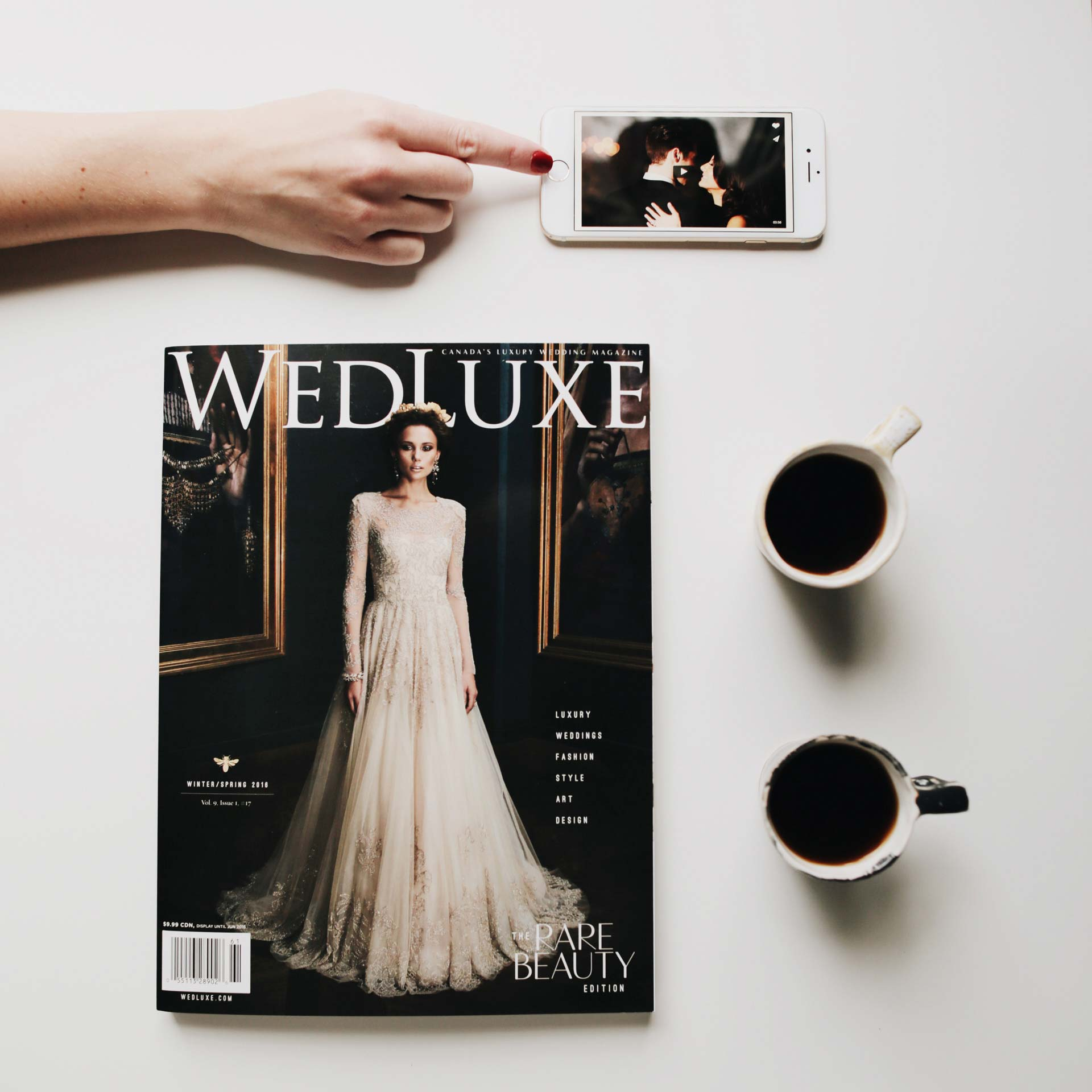 WedLuxe Magazine Winter Spring Issue 2015