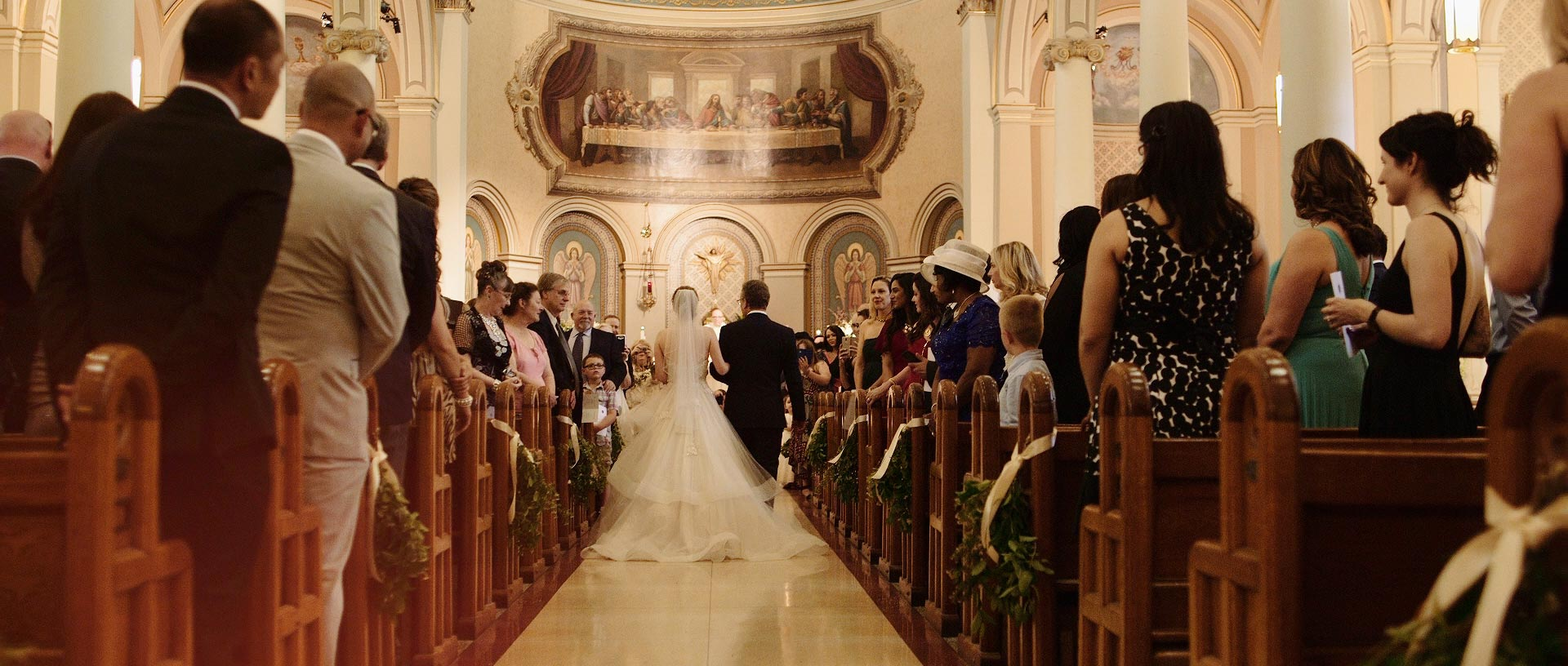 St. Paul's Basilica Wedding