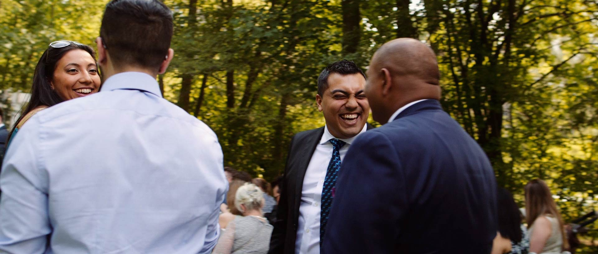 ancaster mill wedding outdoor ceremony
