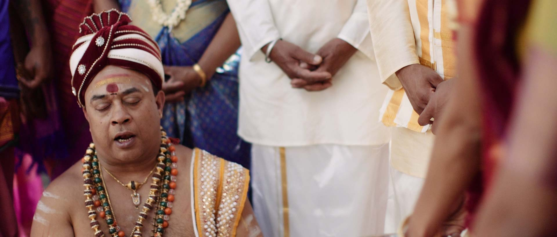 Sri Lankan Hindu Priest Wedding Ceremony