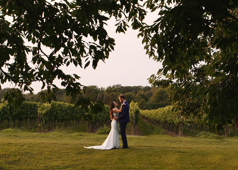 Kurtz Orchard Niagara on the Lake Destination Wedding Film