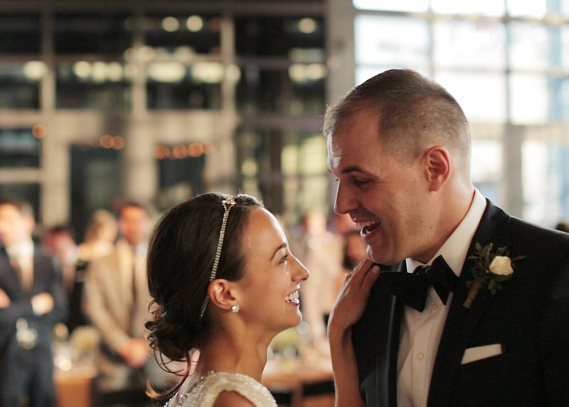 Melissa and Steve Steam Whistle Brewery Toronto Wedding Video