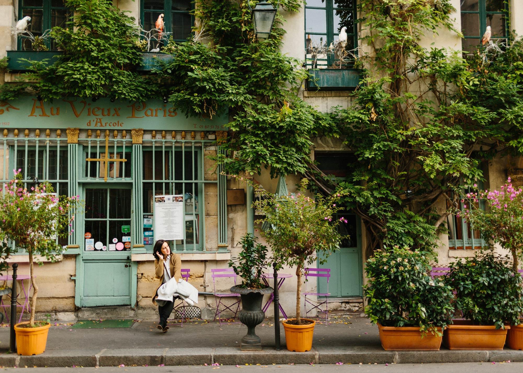 Paris Cafe Travel Photography